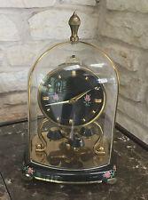 Vintage SCHATZ Miniature Black Anniversary Clock - Made in Germany
