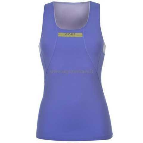 Gore Running Wear Vest Womens Size (L) bluee purple