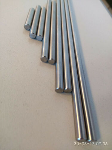 """cal .25/"""" from solid hardened steel PUSH RODS SET for rifling 6.3 mm"""