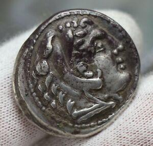 Macedonian-Kingdom-Alexander-3-the-Great-336-323-BC-AR-Tetradrachm-Silver-Coin