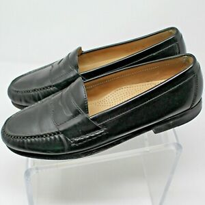 cole haan black penny loafers