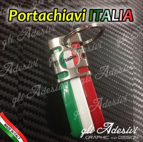 Portachiavi Bandiera Tricolore Italia Auto Moto Vespa tricolore Piaggio