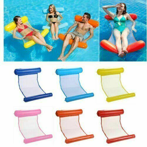 Luftmatratze Schwimm Liege Matratze Pool Wassermatratze LuftbettWasserBälle