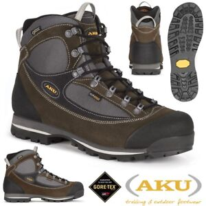 online retailer 1c7ad 6c93a Dettagli su Scarpe AKU Trekker Lite II GTX 838 Scarponcini Trekking GORETEX  Vera Pelle OLIVA