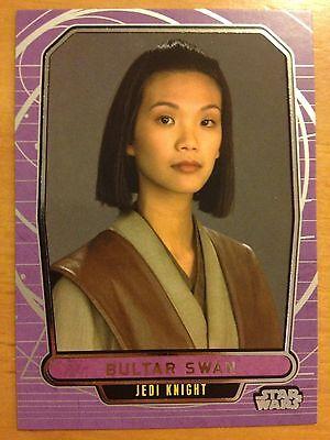 2013 Star Wars Galactic Files 2 #410 Sarrissa Jeng Jedi Knight Mint