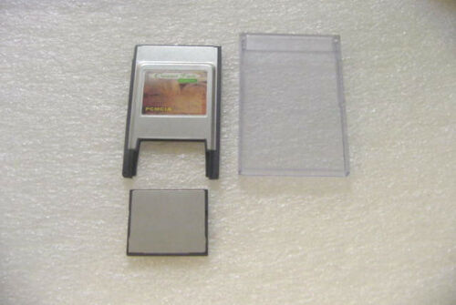 PC card PCMCIA Adapter JANOME 256 MB// Hard case 256MB Compact Flash