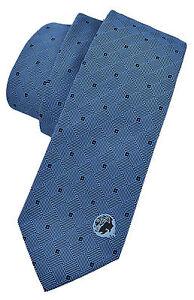 185-VERSACE-bleu-ciel-Medusa-Logo-Hommes-Cravate-100-soie-nouvelle-collection
