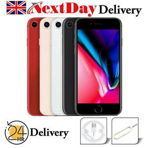 Apple iPhone 8 Plus 64 Go 256 Go Débloqué Sans SIM Smartphone divers couleur UK