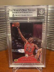 1997-Upper-Deck-Jordan-Air-Time-Michael-Jordan-AT8-BGS-8-5-NM-MT