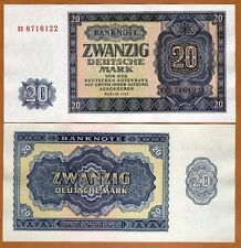 East Germany D.R., DDR, 20 Mark, 1955, Pick 19, Ch. UNC