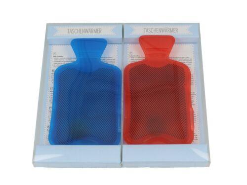 Poches Plus Chaud//compresse-Bouillotte-Bleu et Rouge