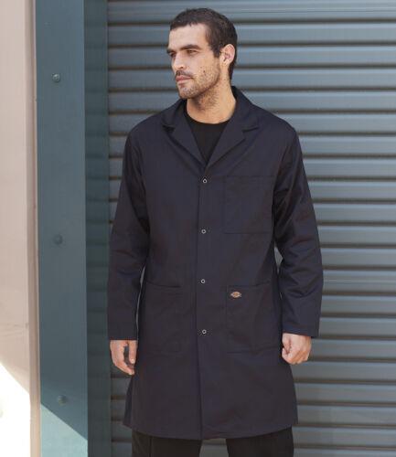 Dickies Redhawk Warehouse Cappotto WD200 giacca lavoro macellaio alimentari Lab Durevole Duro