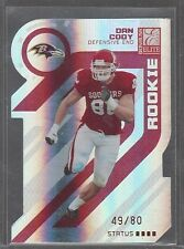 2005 Donruss Elite Status Red #133 Dan Cody RC Rookie 49/80