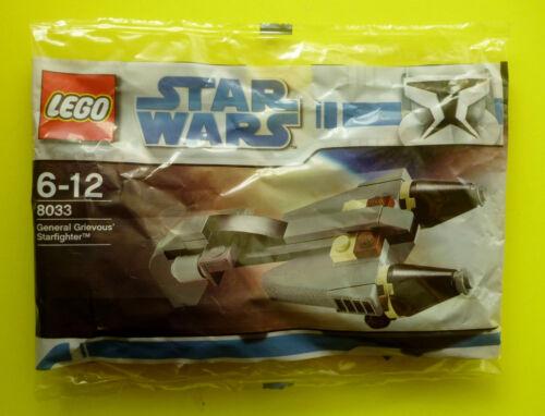 Lego Star Wars 8033 General Grievous Starfighter Polybag Neu Ovp