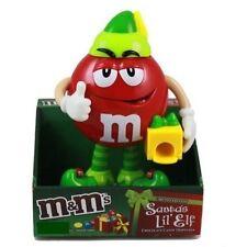 M&Ms (MandM M&M's MMs) Red Santa's Lil' Elf Candy Dispenser NEW in box