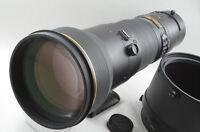 Nikon AF-S NIKKOR 600mm F4 G ED VR [EXCELLENT] from Japan (99-D05)