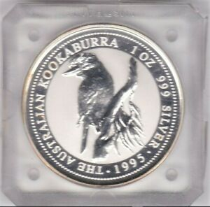 1995-KOOKABURRA-1oz-Silver-Coin-in-Slab