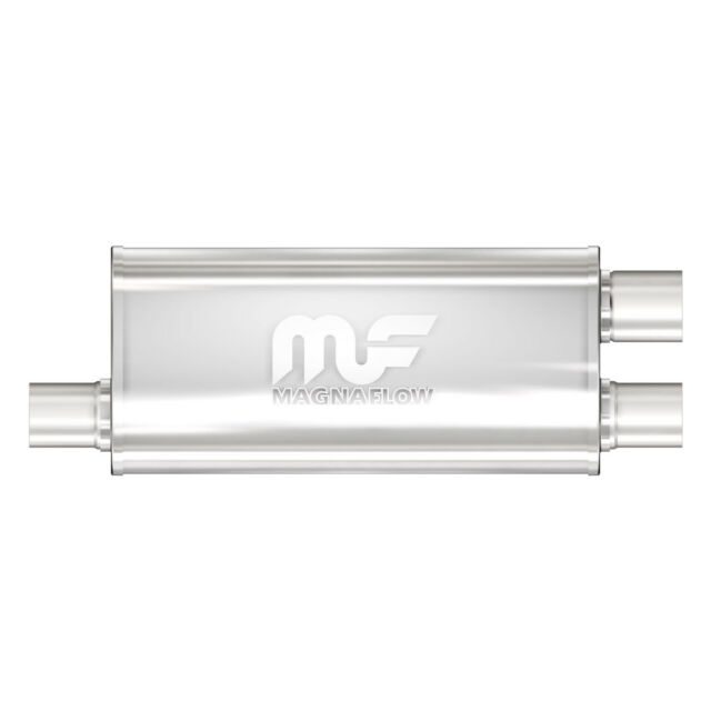 Magnaflow 14266 Polished Stainless Steel Oval Muffler