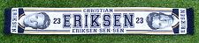 CHRISTIAN ERIKSEN TOTTENHAM FOOTBALL SCARF NEW 2016 17