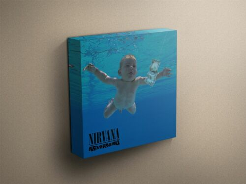 "Nirvana /""Nevermind/"" Cover Art Canvas Art Print #007627"