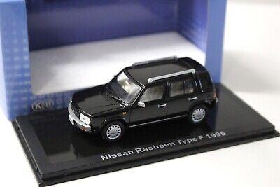 Autos, Lkw & Busse Auto- & Verkehrsmodelle Sinnvoll 1:43 Norev Nissan Rasheen Type F 1995 Black New Bei Premium-modelcars