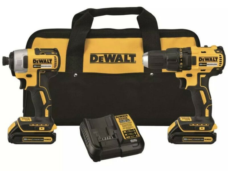 Dewalt 18/20 V CORDLESS COMPACT Drill and Driver Combo