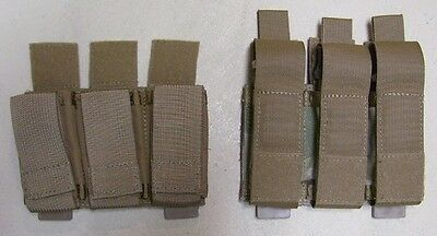 Tactical Tailor MOLLE Magna Triple Pistol Mag - choice of coyote or multicam
