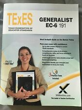 TExES Generalist EC-6 191 1 by Sharon A. Wynne (2011, Paperback, New Edition)