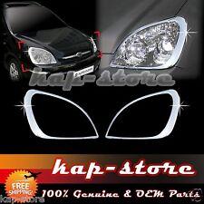 Chrome Headlight Lamp Cover Trim for 07~12 Kia Rondo/Carens