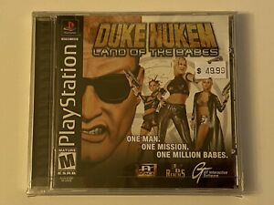 DUKE-NUKEM-LAND-OF-THE-BABES-PS1-PlayStation-1-PSX-GAME-COMPLETE-MINT