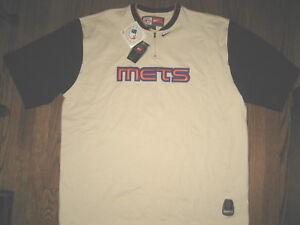 New-mens-2XL-XXL-Nike-NY-Mets-shirt-top-baseball-athletic-apparel