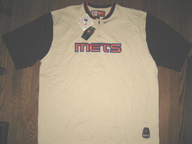 New mens 2XL XXL Nike NY Mets shirt top baseball athletic apparel