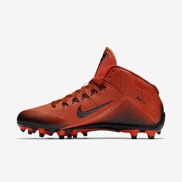 NIKE ALPHA PRO 2 MID TD MEN'S FOOTBALL CLEATS 719927-800 MSRP