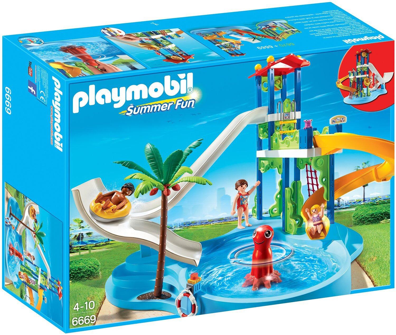 Playmobil - Summer Fun - 6669 - Aquapark mit Rutschentower - NEU OVP