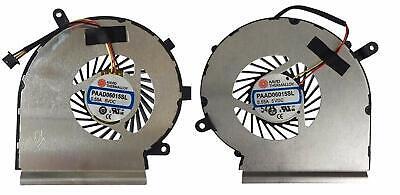 NUOVA ventola di raffreddamento della CPU per MSI GE62 GE72 GL62 GL72 PE60 PE70 PAAD 06015SL