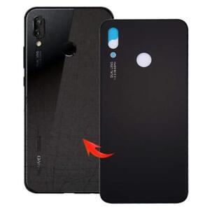 Huawei-P20-Lite-Cover-Copertina-Retro-Batteria-Copertura-Posteriore-Vetro-Nero