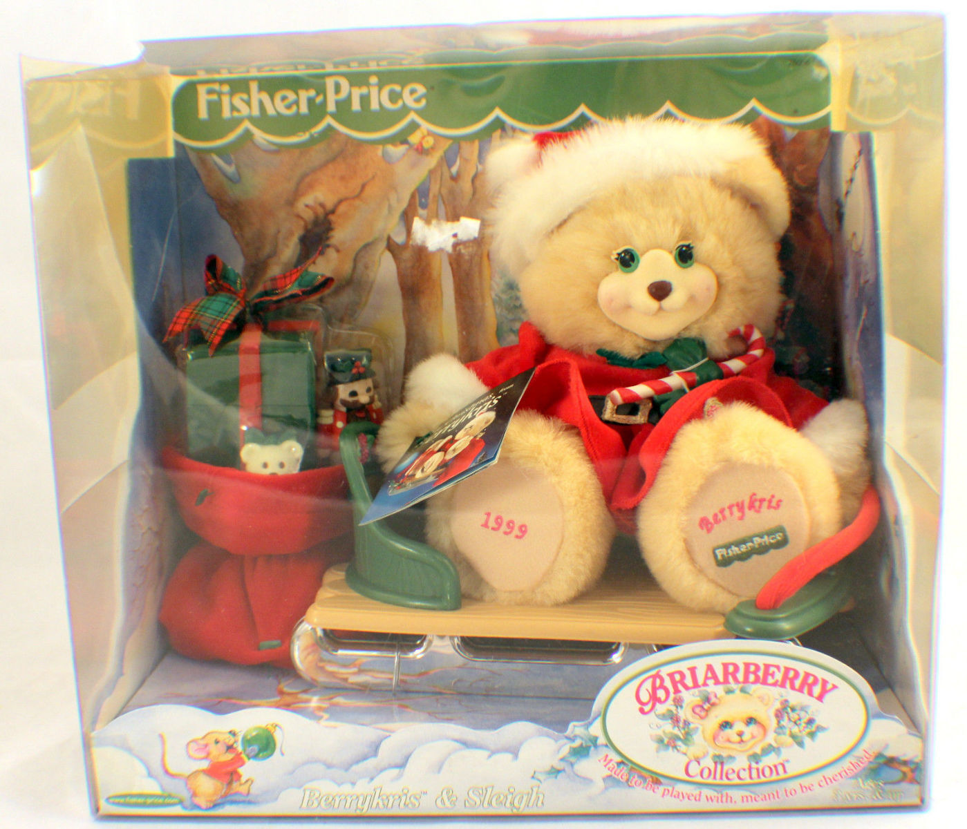 New Briarberry Collection Berrykris & Sleigh Set