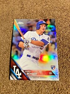 Corey Seager 2016 Topps Chrome Rookie Refractor #150