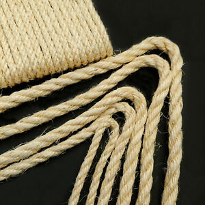 100-Natural-Sisal-Rope-Garden-Decking-Pets-Cat-Scratching-Post-Cats-Toy-Amimals