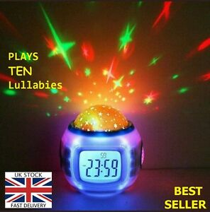 NEW MUSICAL NIGHTLIGHT+SOU<wbr/>ND MELODY MUSIC COT CRIB BED TOY INFANT TODDLER UK P2