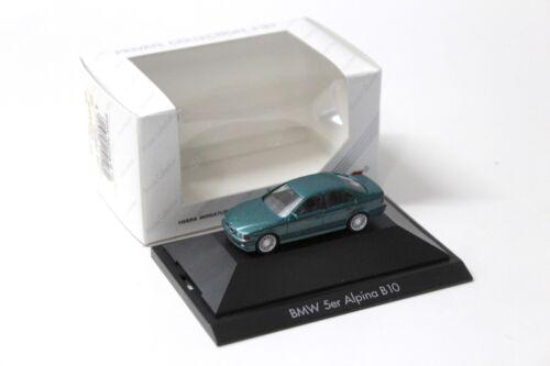1:87 Herpa BMW 5er E39 Alpina B10 green SP NEW bei PREMIUM-MODELCARS