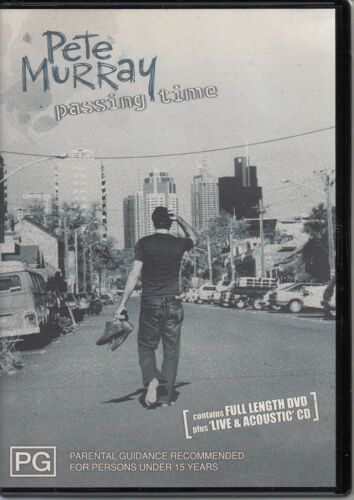 1 of 1 - Pete Murray - Passing Time (2004) - DVD & CD - PAL REGION