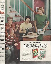 Premium & Prize Catalog 1955 Instant Fels Naptha Felso Housewares Cameras Scarce