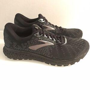 timeless design 12420 26ddc Details about Size 12 Brooks Running Shoe Mens Glycerin 17 071 Black Ebony  Athletic Wear