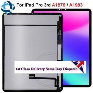 IPad-Pro-12-9-034-3rd-Gen-2018-modele-A1876-A1895-LCD-ecran-retina-tactile-Numeriseur