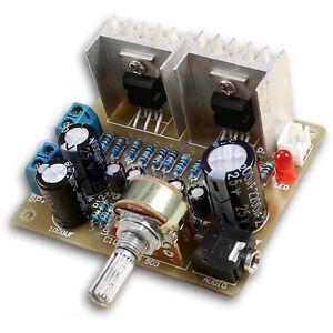 DIY-Kit-2-0-double-canal-TDA2030A-Module-de-puissance-Amplificateur-BA