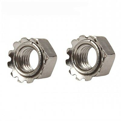 M3 M4 M5 M6 M8 Kep Nuts Metric A2 Stainless Steel