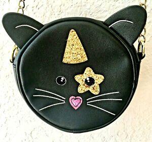 UNIQUE NWT Olivia Miller Yellow /& Black Emoji Crossbody Bag