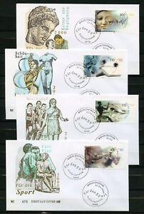 BUND Nr.2094-2097 SCHMUCK-FDC ESST BERLIN SPORT ME 13,- !!! (137066) - Frankenthal, Deutschland - BUND Nr.2094-2097 SCHMUCK-FDC ESST BERLIN SPORT ME 13,- !!! (137066) - Frankenthal, Deutschland
