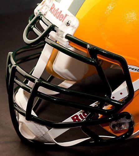 DARK GREEN GREEN BAY PACKERS Riddell Speed S3BDU Football Helmet Facemask